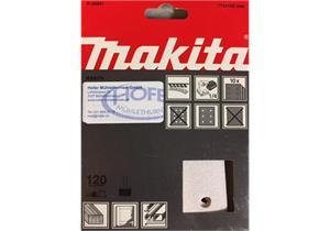 Schleifpapier für Schwingschleifer 114 x 102mm Korn 120 10Stk.
