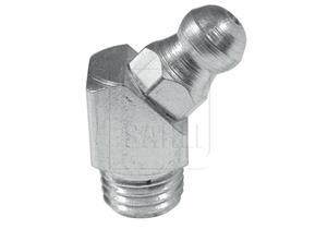 Schmiernippel M8 x 1 45° H2, 4-kant. für 9mm Schlüssel (Walterscheid)