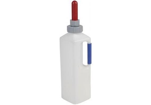 Schoppenflasche für Kälber 3 Liter mit Gewindeverschluss selbstregulierend