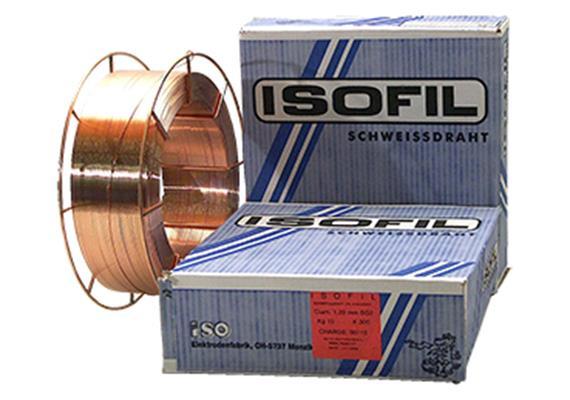Schweissdraht FILEUR 1A SG-3 Ø 1mm für Baustähle, Spule 15kg