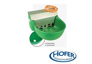 Schwimmertränkebecken Suevia Model 130P-H aus Kunststoff mit Heizung