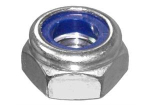 Sechskantmuttern Poly Stop verzinkt Kl.8 DIN 985 M16