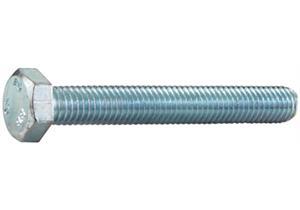 Sechskantschrauben verzinkt mit Vollgewinde 8.8 M16 x 60