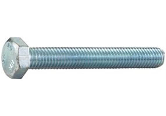 Sechskantschrauben verzinkt mit Vollgewinde 8.8 M4 x 12