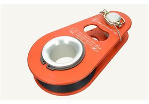 Seilrolle LT -Orange für Seil - Ø max. 14 mm Nutzlast 60 kN (Sicherheit ca. 3fach) 2.9kg