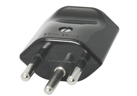 Stecker Typ 12 schwarz Kabeleinführung 11,5mm