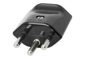 Stecker Typ 12 schwarz