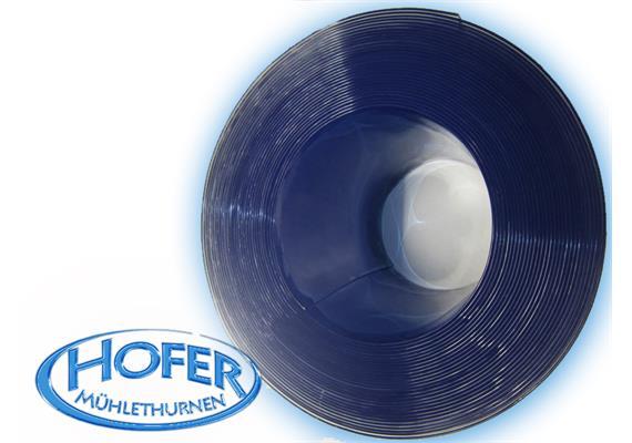 Streifenvorhang aus PVC glasklar 300 x 3mm, 1 Rollenlänge =25m