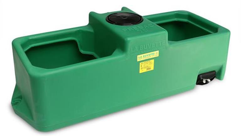 Tränketrog Prebac 70 Liter mit Schwimmerventil  1 Bar 110 x 39 x 35cm