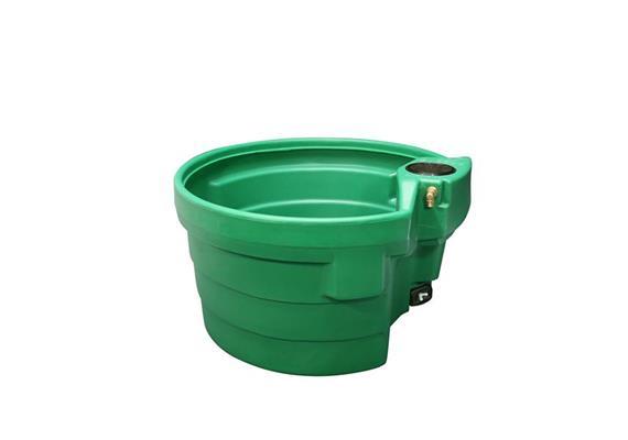 Tränketrog Prebac Polychock 400 Liter rund 1080 x 600mm aus PE ohne Schwimmer
