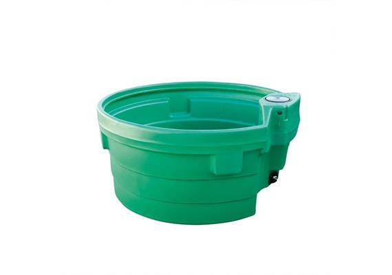 Tränketrog Prebac Polychock 600 Liter rund 1300 x 600mm aus PE ohne Schwimmer