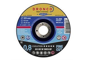 Trennscheibe Dronco für Metalle und Inox Stahl Ø 125 x 0.8 x 22.2mm