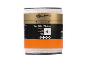 Turbo Breitband Gallagher weiss mit 3 dicken Nirosta - und 2 dick B 20mm L 200m