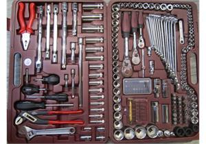 Universal-Steckschlüssel-Werkzeugkoffer 227 - teilig Kraftwerk