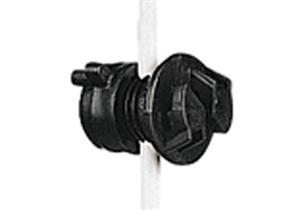 Universalisolator Gallagher schwarz für Pfähle mit Ø 4 - 10mm 20Stk.