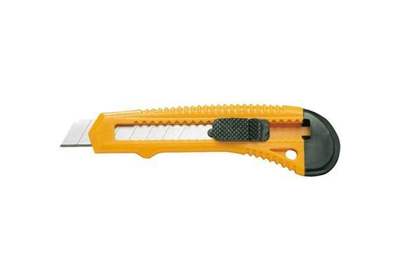 Universalmesser mit Stopper orange