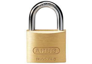 Vorhängeschloss ABUS 85/25 25mm, Messingkörper mit gehärtetem Stahlbügel und 2 Schlüssel