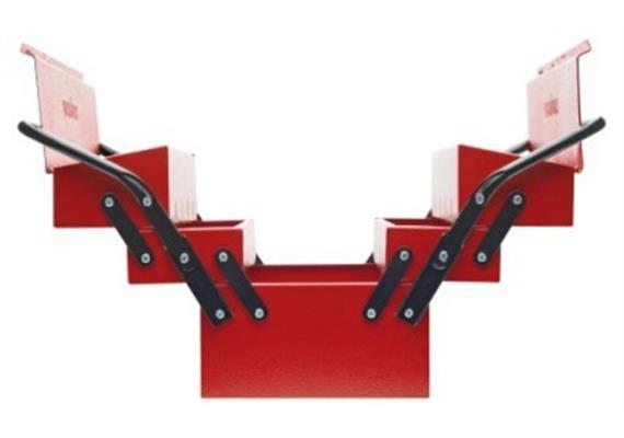 Werkzeugkoffer Kraftwerk 5 - teilig leer 530 x 200 x 200mm