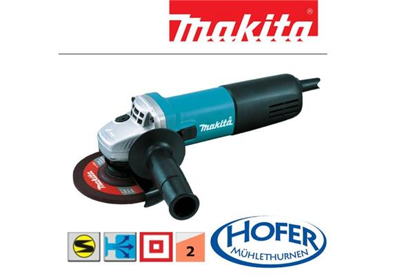 Winkelschleifer Makita 9558NB Ø 125mm 230V 840 Watt 2.1kg