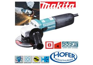 Winkelschleifer Makita GA5040CFJ Ø 125mm 230V 1400W inkl. MAKPAC