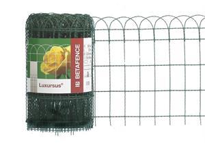 Ziergitter Luxursus verzinkt und tannengrün plastifiziert H 1,2m